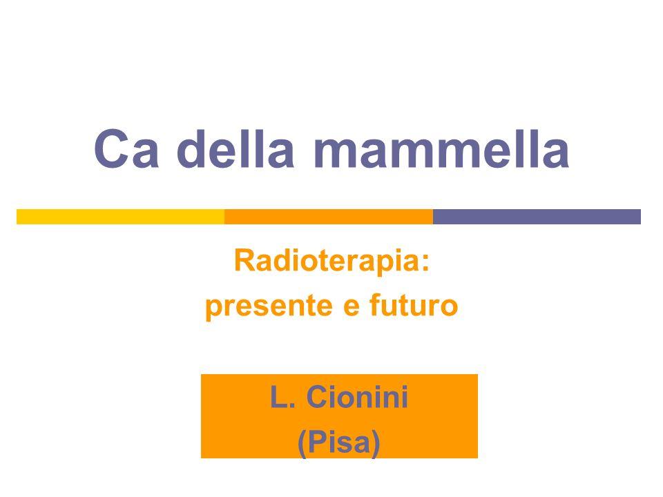 Radioterapia: presente e futuro