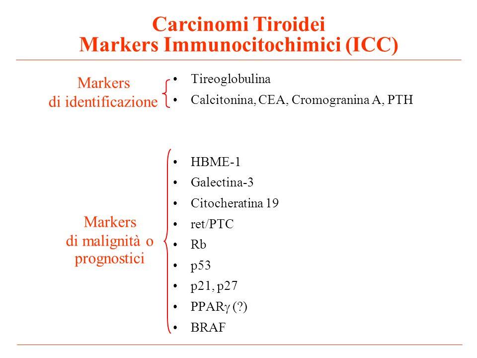 Carcinomi Tiroidei Markers Immunocitochimici (ICC)
