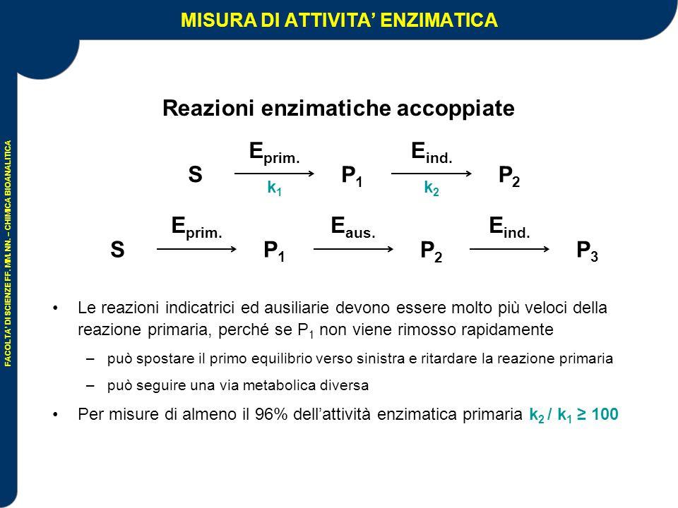 MISURA DI ATTIVITA' ENZIMATICA