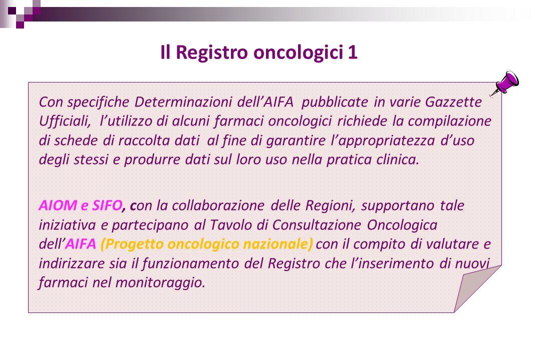 Il Registro oncologici 1