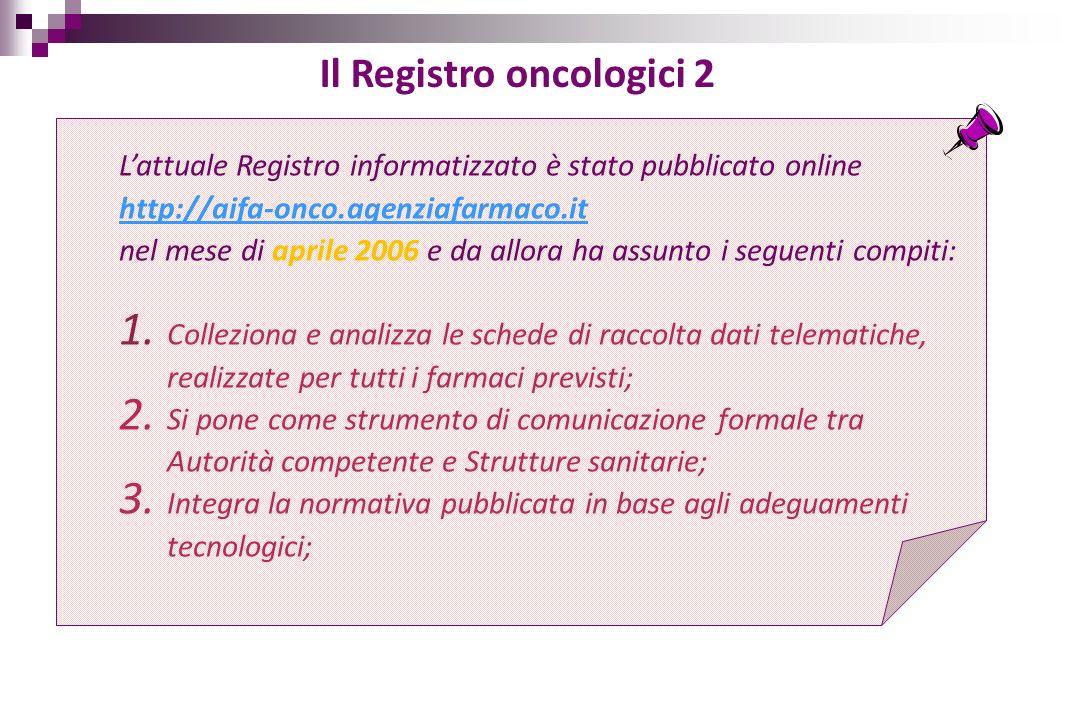 Il Registro oncologici 2