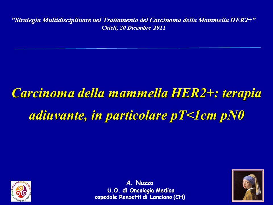 A. Nuzzo U.O. di Oncologia Medica ospedale Renzetti di Lanciano (CH)
