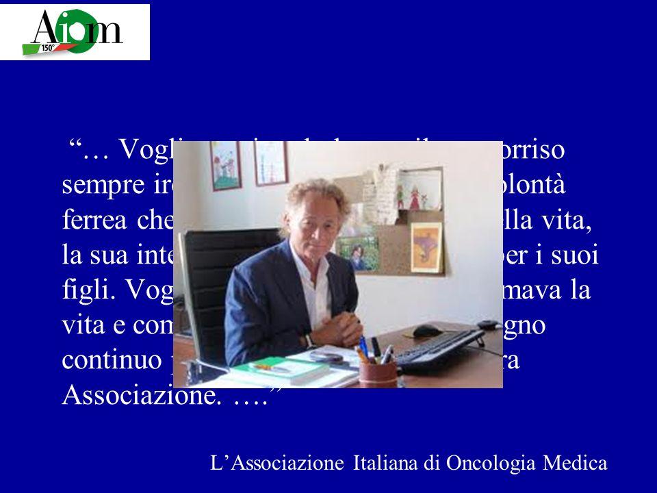 L'Associazione Italiana di Oncologia Medica