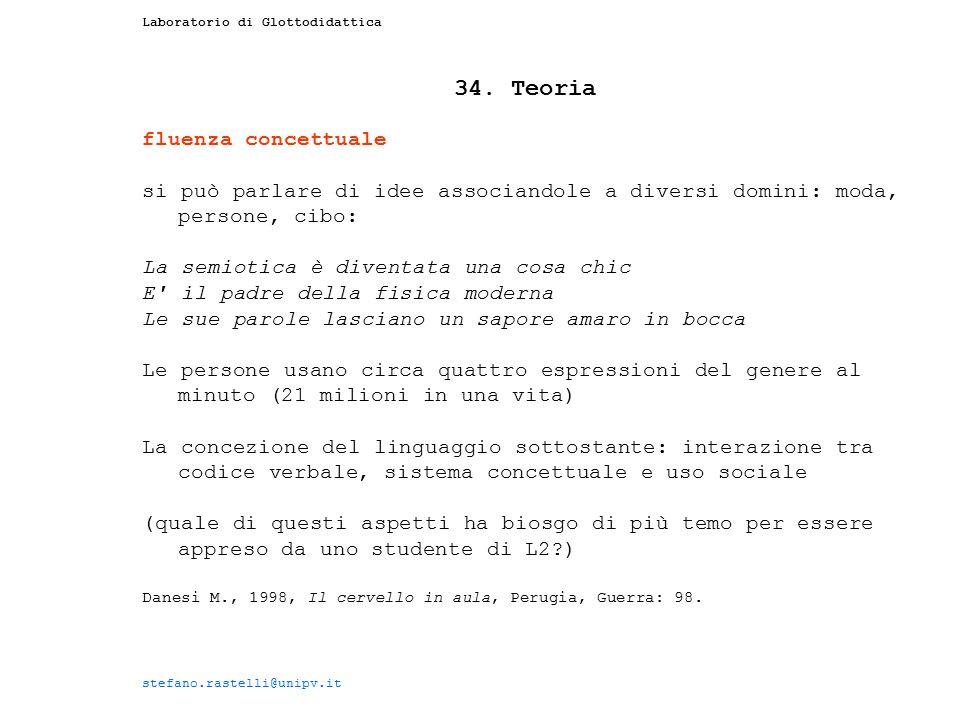 34. Teoria fluenza concettuale