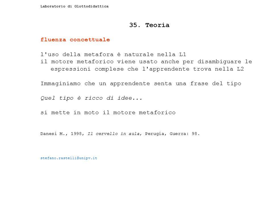 35. Teoria fluenza concettuale
