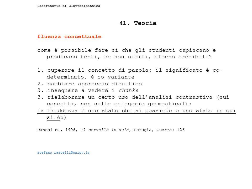 41. Teoria fluenza concettuale