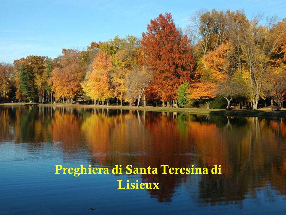 Preghiera di Santa Teresina di Lisieux