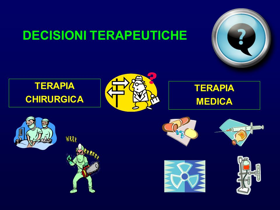 DECISIONI TERAPEUTICHE