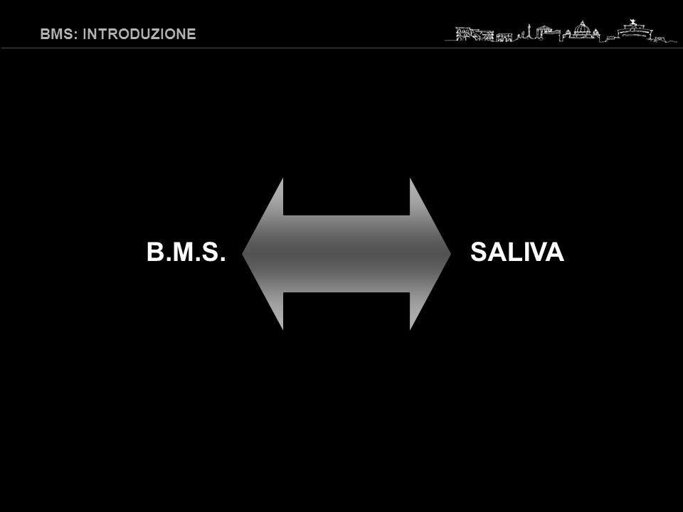 BMS: INTRODUZIONE B.M.S. SALIVA