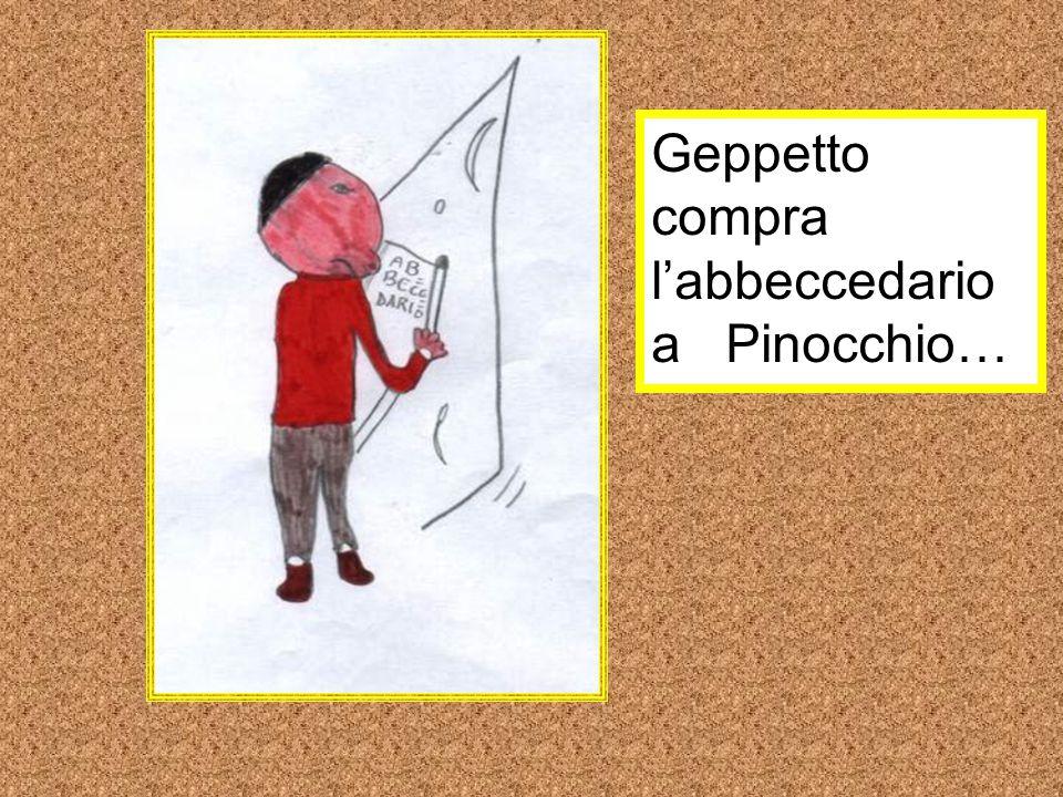 Geppetto compra l'abbeccedario a Pinocchio…