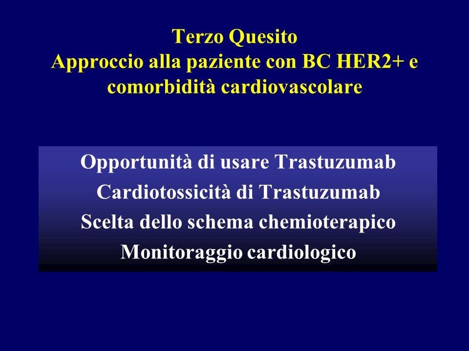 Opportunità di usare Trastuzumab Cardiotossicità di Trastuzumab