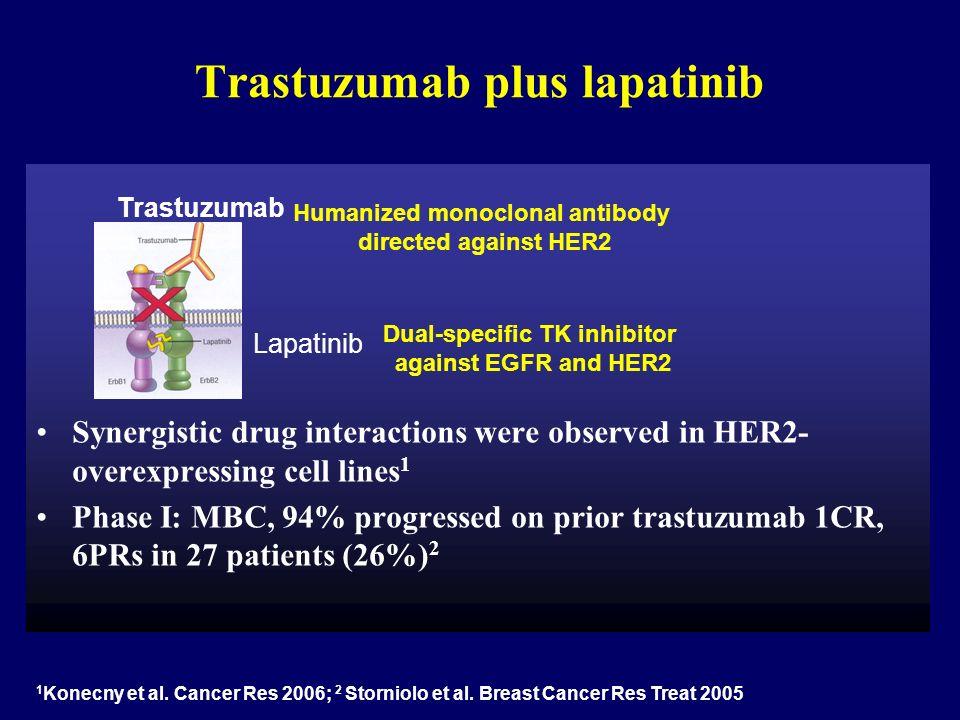 Trastuzumab plus lapatinib