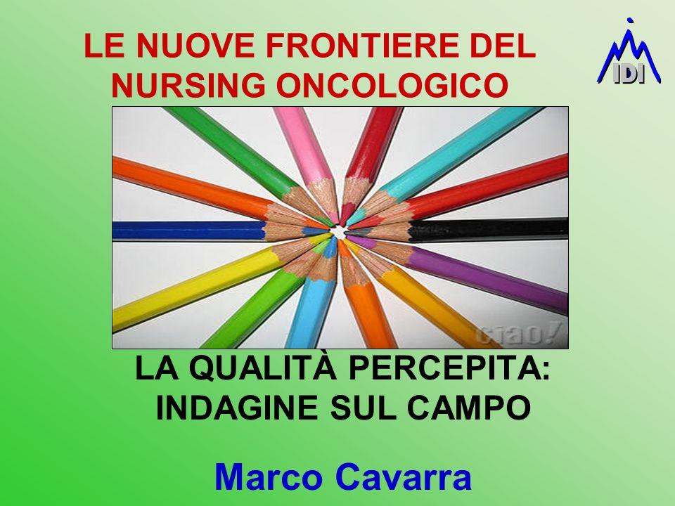 LE NUOVE FRONTIERE DEL NURSING ONCOLOGICO