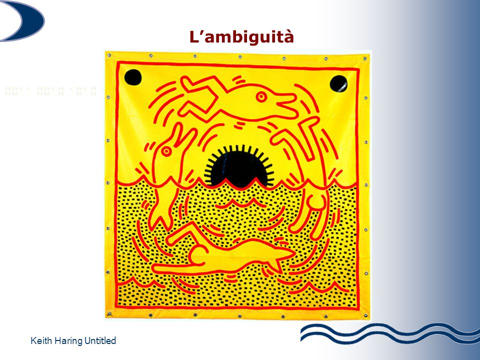 L'ambiguità Keith Haring Untitled