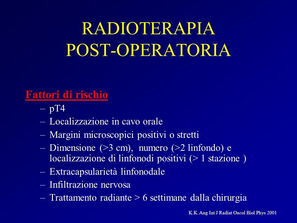 RADIOTERAPIA POST-OPERATORIA