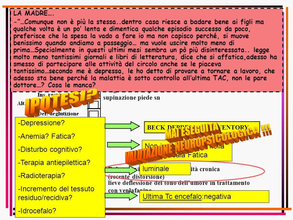 VALUTAZIONE NEUROPSICOLOGICA !!!