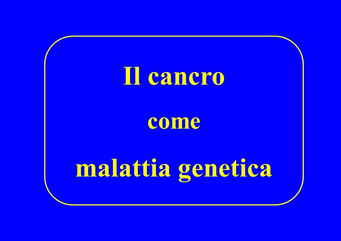 Il cancro malattia genetica