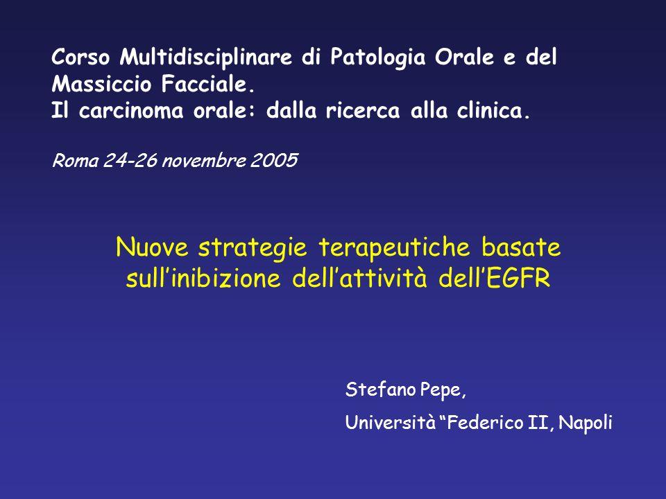 Corso Multidisciplinare di Patologia Orale e del Massiccio Facciale.