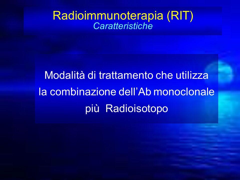 Radioimmunoterapia (RIT) Caratteristiche