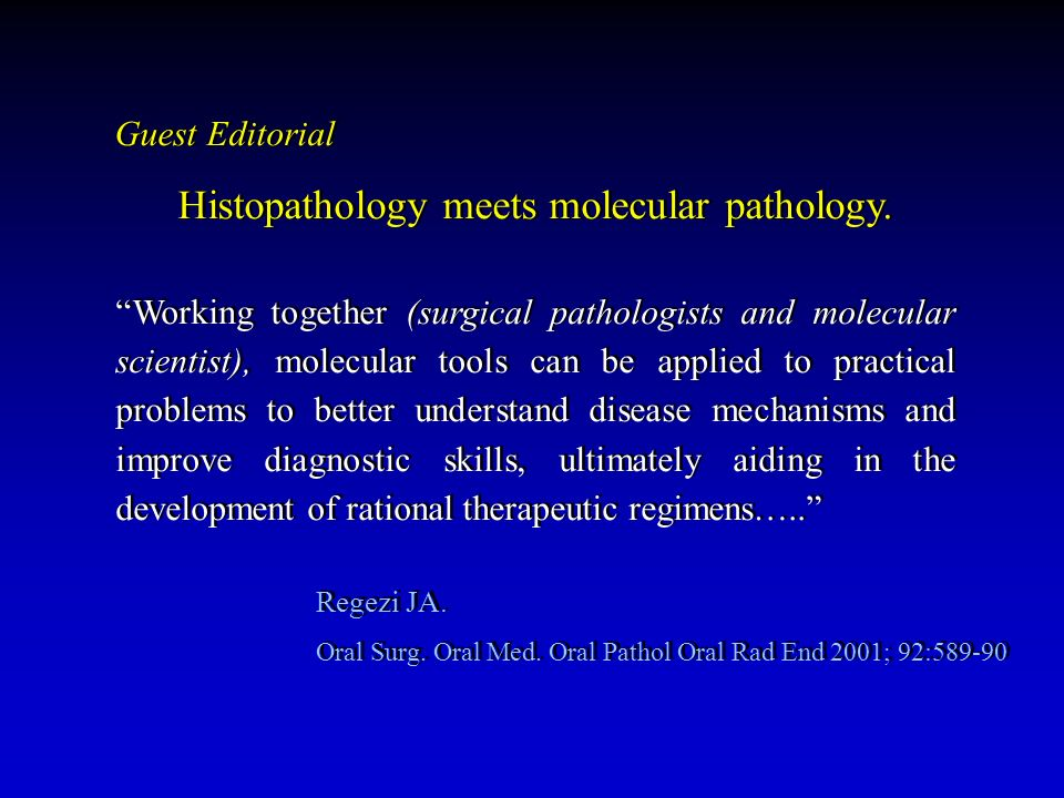 Histopathology meets molecular pathology.