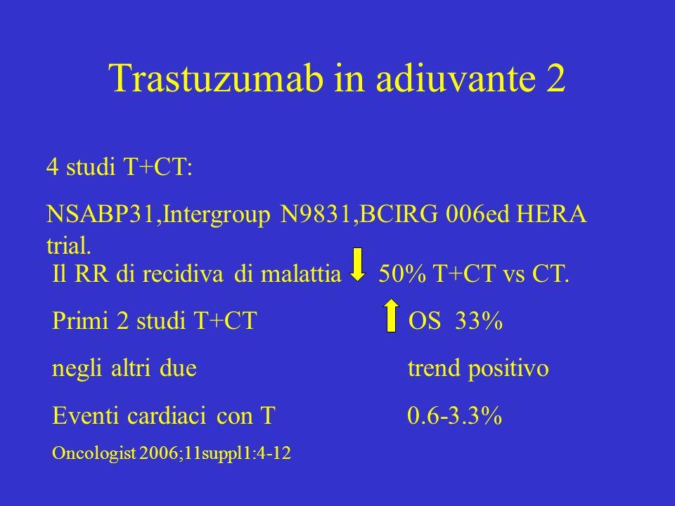 Trastuzumab in adiuvante 2