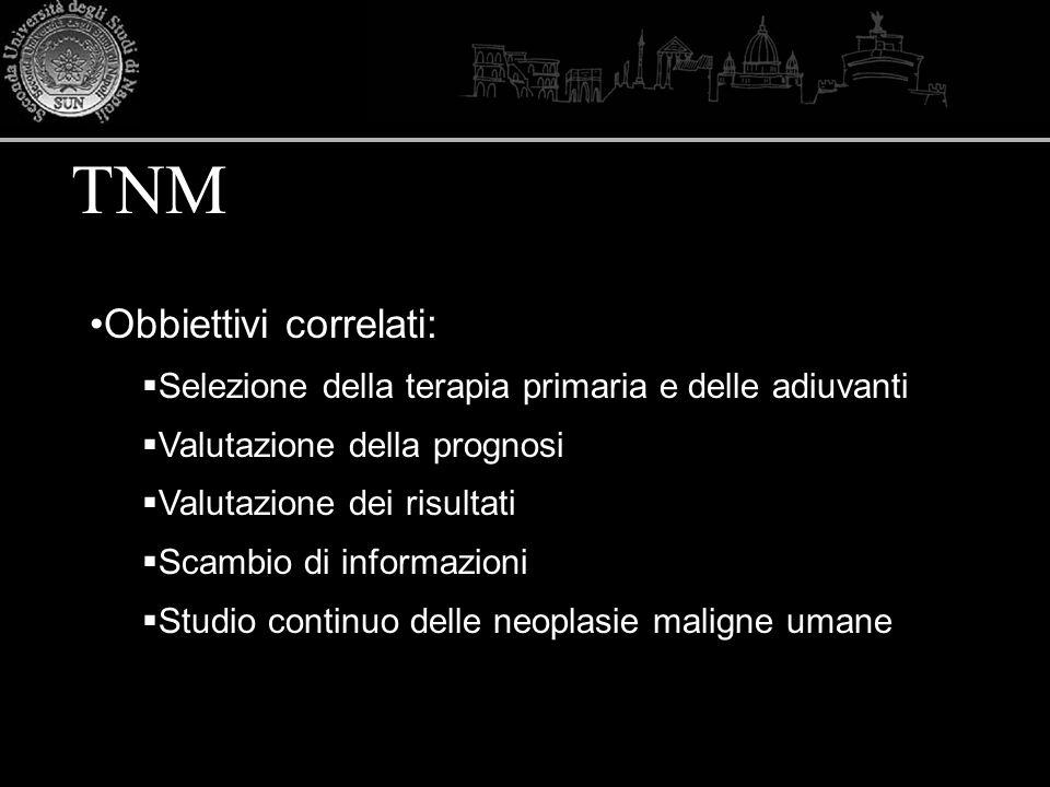 TNM Obbiettivi correlati: