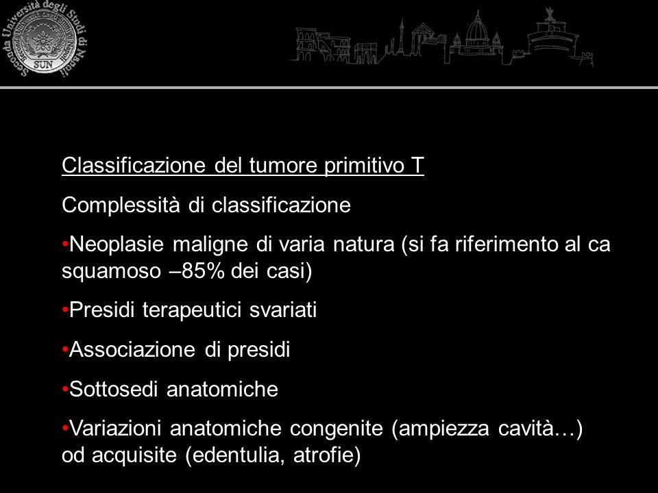 Classificazione del tumore primitivo T