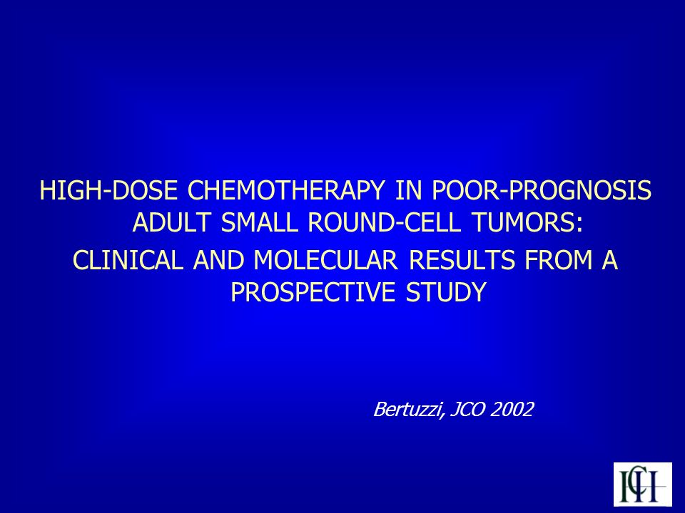 CLINICAL AND MOLECULAR RESULTS FROM A PROSPECTIVE STUDY