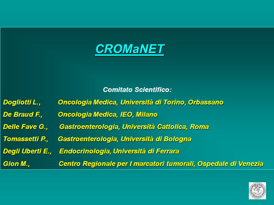 Comitato Scientifico: