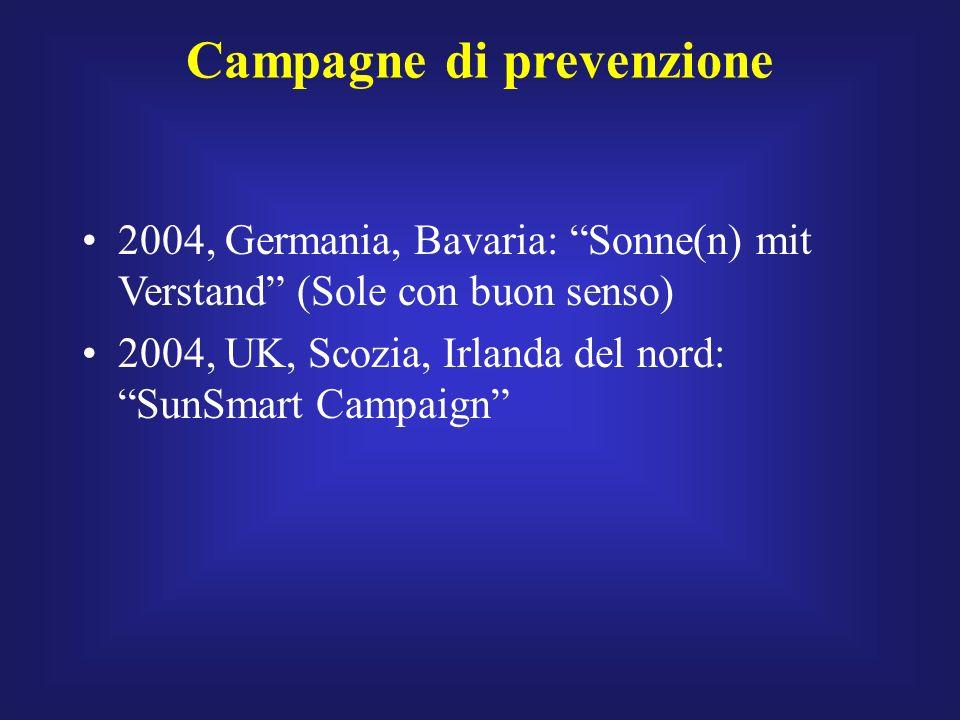 Campagne di prevenzione