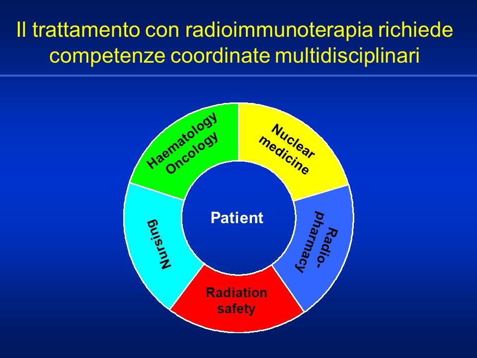 Il trattamento con radioimmunoterapia richiede competenze coordinate multidisciplinari