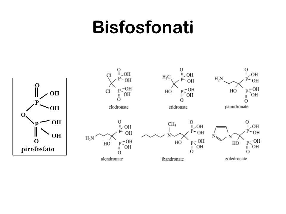 Bisfosfonati O OH P pirofosfato