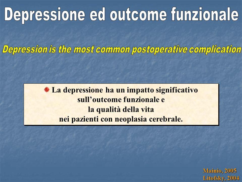 Depressione ed outcome funzionale