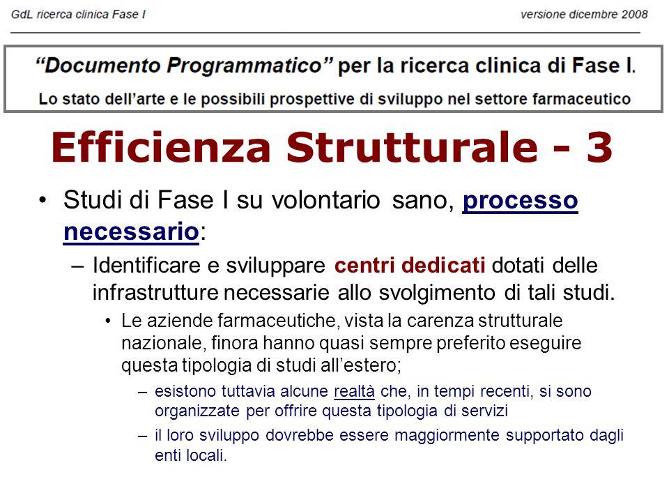 Efficienza Strutturale - 3