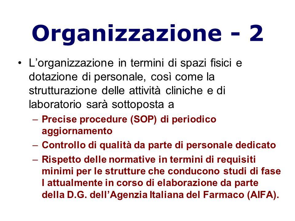 Organizzazione - 2