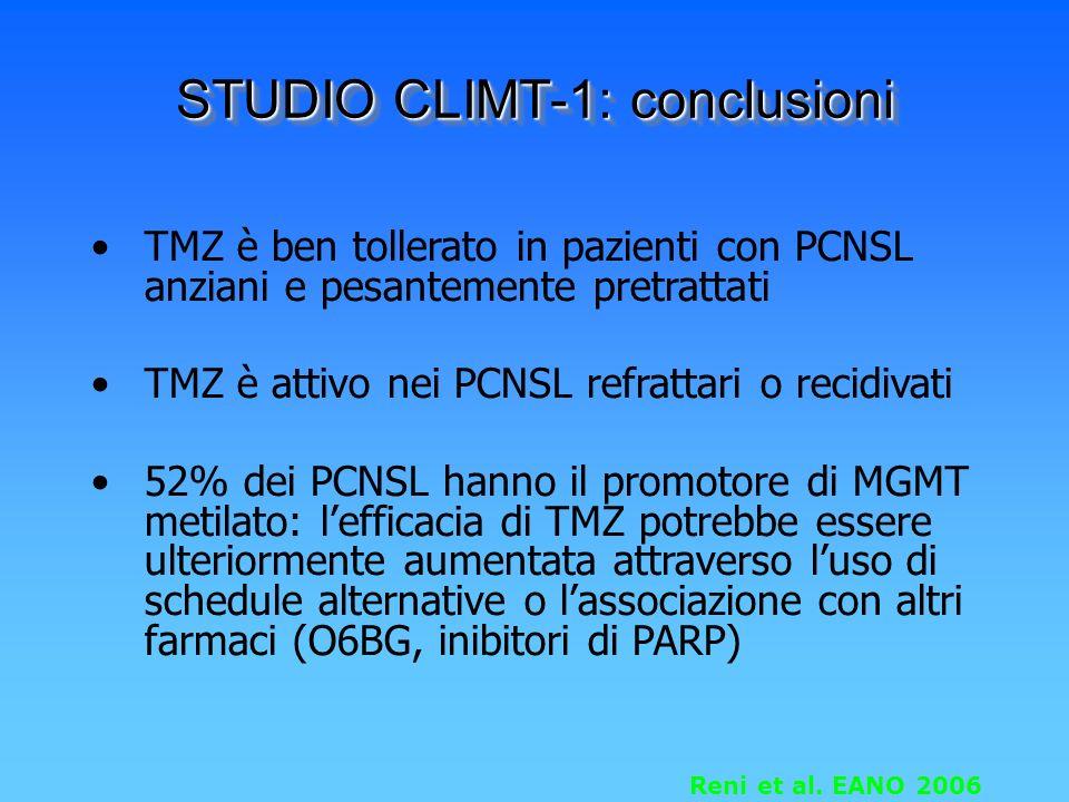 STUDIO CLIMT-1: conclusioni