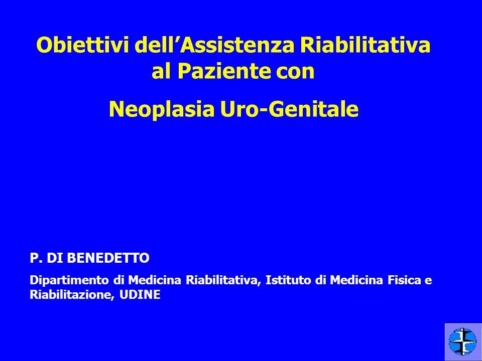 Obiettivi dell'Assistenza Riabilitativa al Paziente con