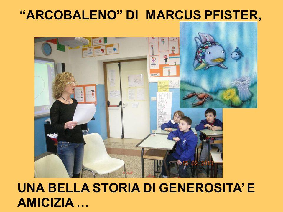 ARCOBALENO DI MARCUS PFISTER,
