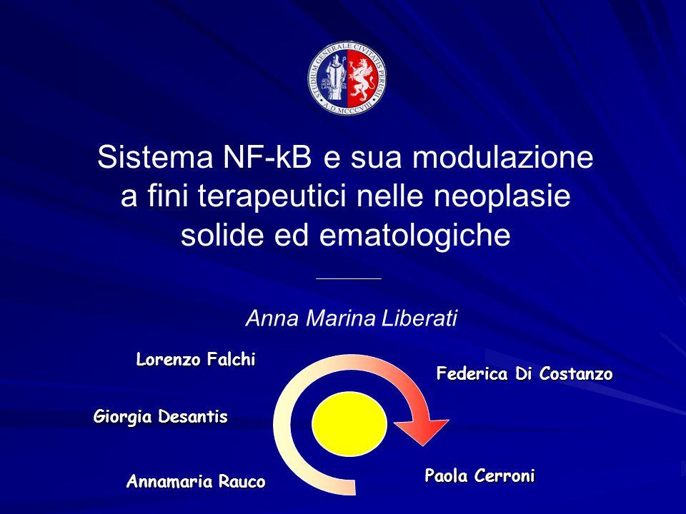 Sistema NF-kB e sua modulazione a fini terapeutici nelle neoplasie solide ed ematologiche