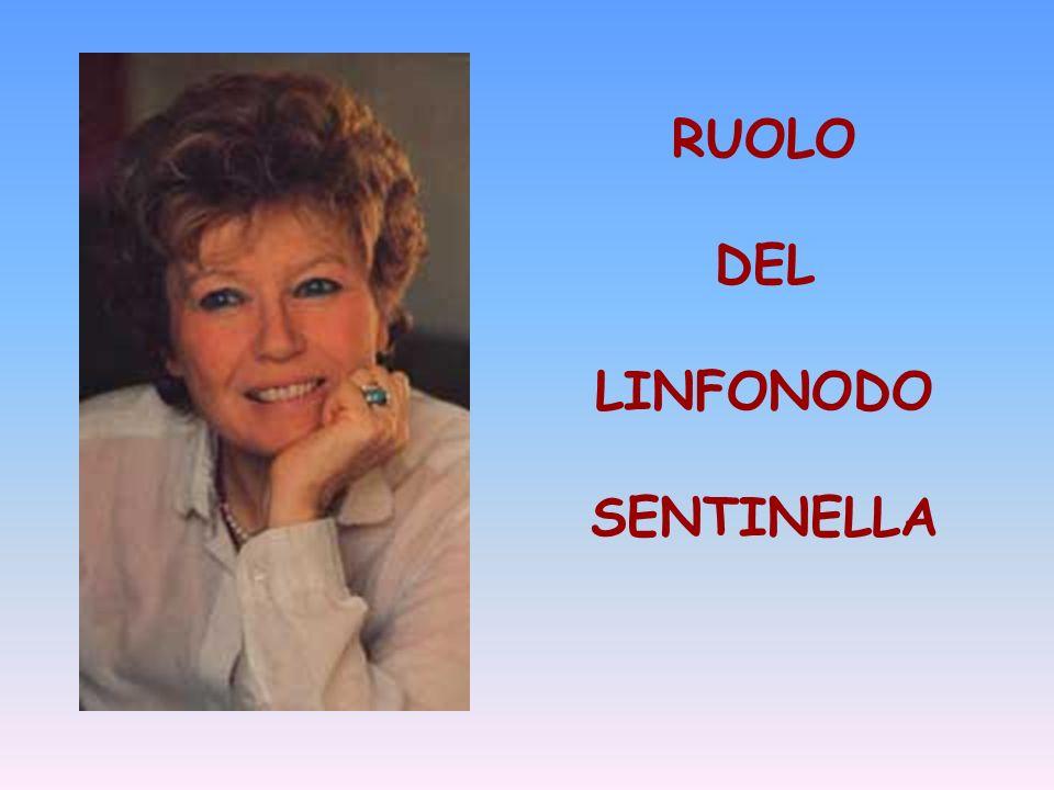 RUOLO DEL LINFONODO SENTINELLA
