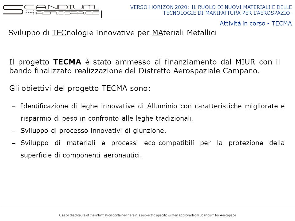 Sviluppo di TECnologie Innovative per MAteriali Metallici