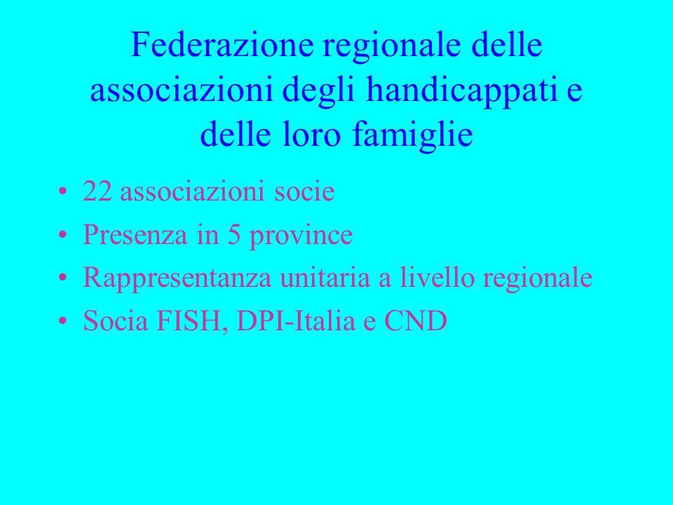 Federazione regionale delle associazioni degli handicappati e delle loro famiglie