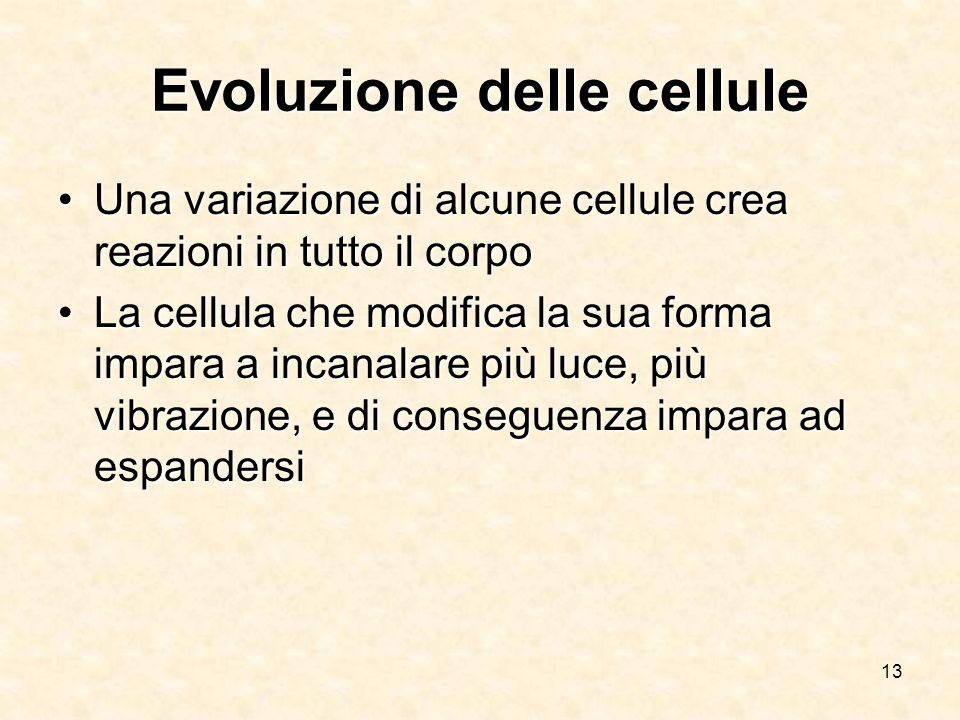Evoluzione delle cellule