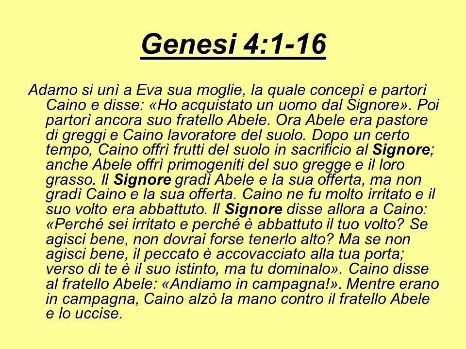 Genesi 4:1-16
