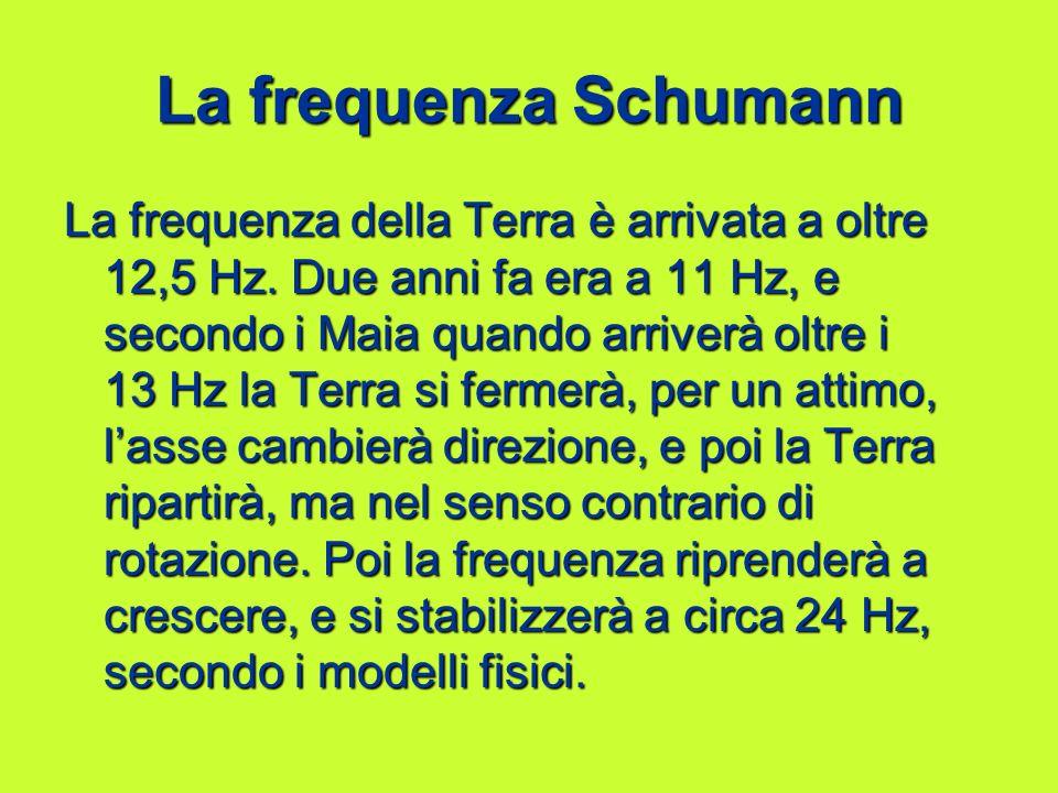 La frequenza Schumann