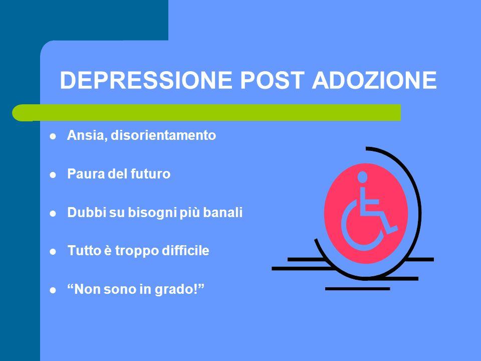 DEPRESSIONE POST ADOZIONE