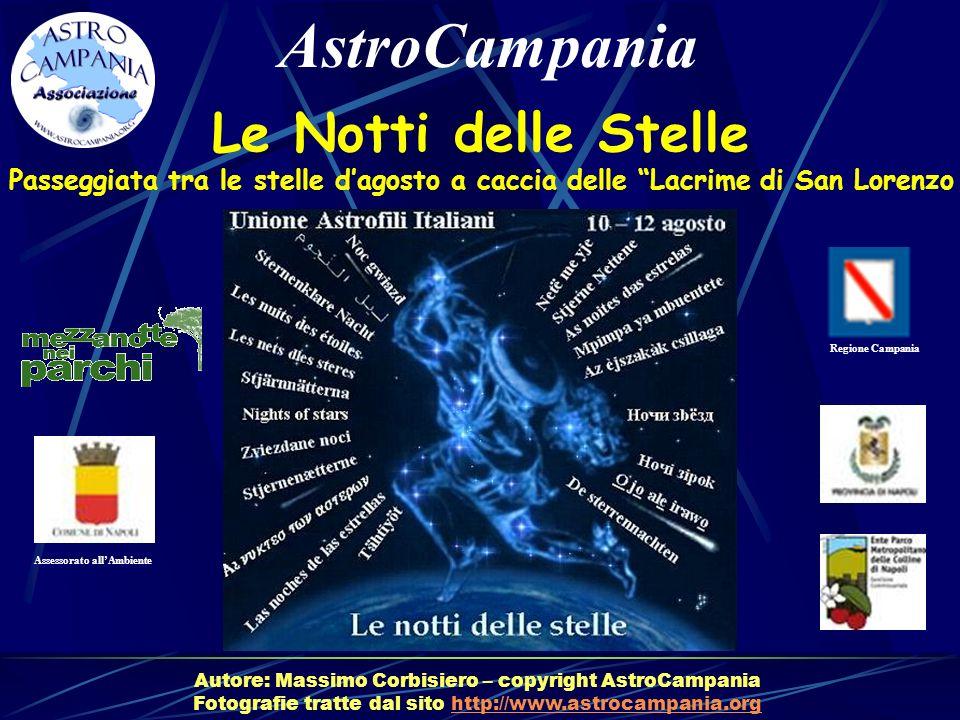 AstroCampania Le Notti delle Stelle