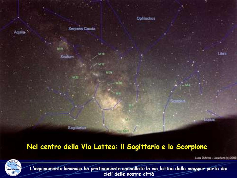 Nel centro della Via Lattea: il Sagittario e lo Scorpione