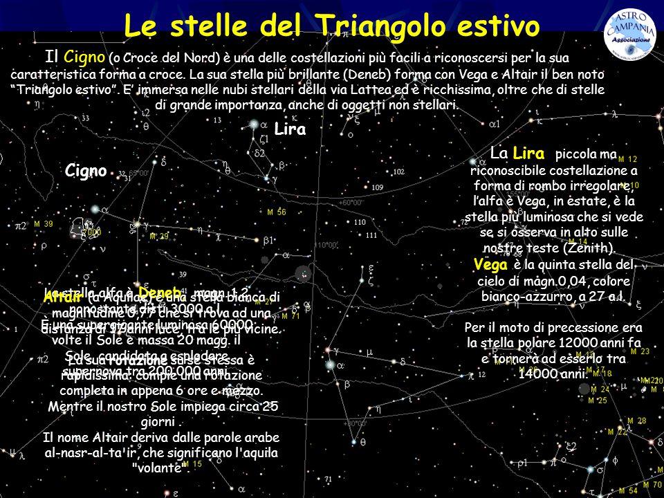 Le stelle del Triangolo estivo