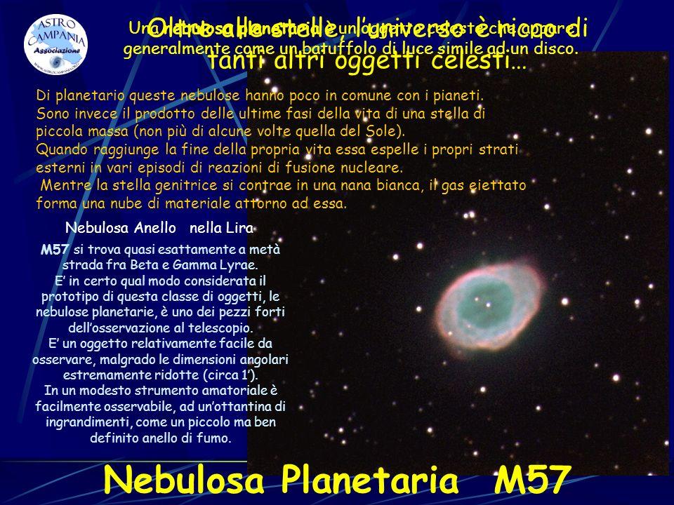 Oltre alle stelle, l'universo è ricco di tanti altri oggetti celesti…